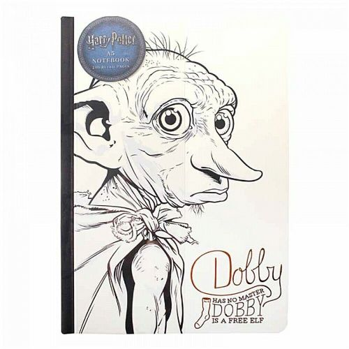 Harry Potter Dobby House Elf A5 Notebook Note Pad